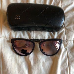 CHANEL Mirrored Sunglasses